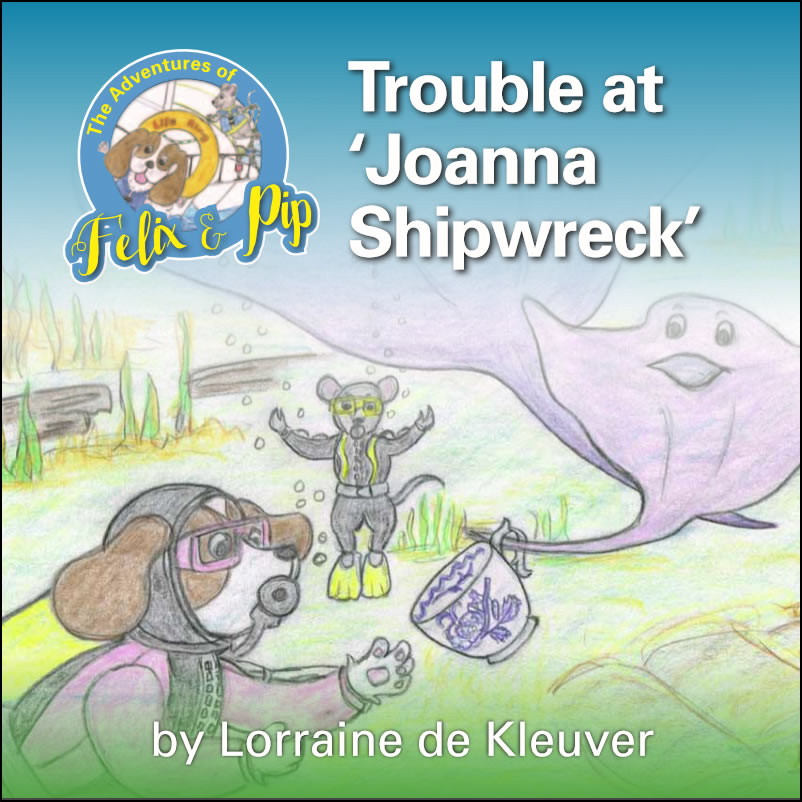 Trouble at 'Joanna Shipwreck'